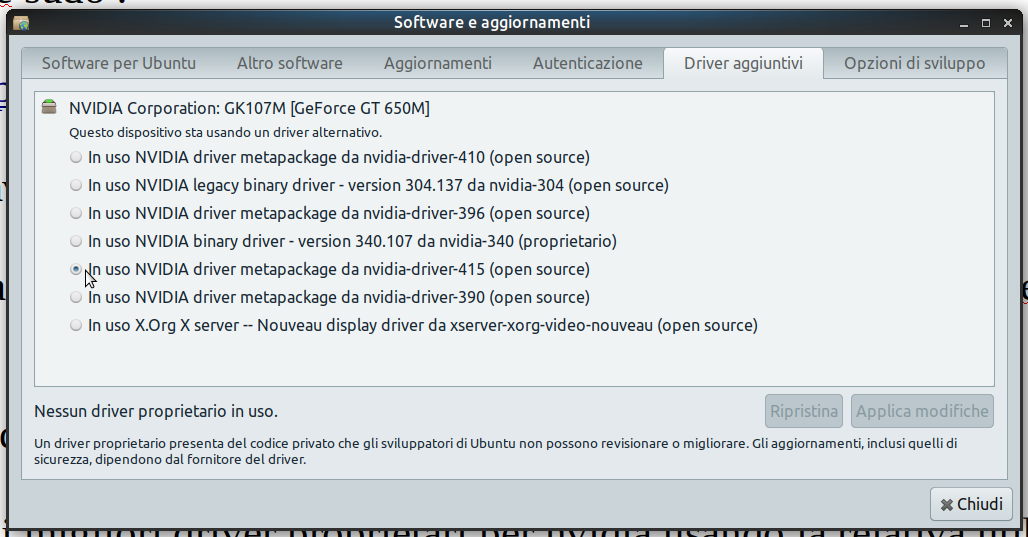 interi siti con ubuntu